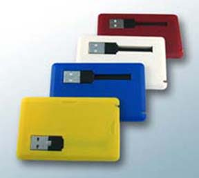 credit card memory, cardisk, available colors