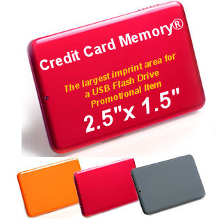 promotional items usb flash memory - credit card memory